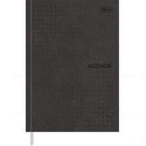 Imagem - Agenda Executiva Costurada Diária 14,5 x 20,5 cm Prátika Permanente - Preto