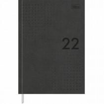 Imagem - Agenda Executiva Costurada Diária 14,5 x 20,5 cm Prátika Preta 2022