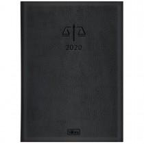 Imagem - Agenda Executiva Costurada Diária de Mesa Advogado 2020
