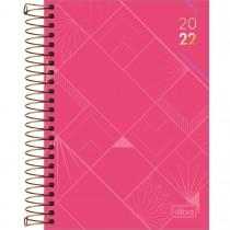 Imagem - Agenda Executiva Espiral Diária 13 x 18,8 cm Spot Feminina 2022 - Sortido