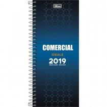 Imagem - Agenda Executiva Espiral Diária Comercial Ideale 2019