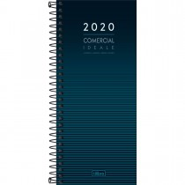 Imagem - Agenda Executiva Espiral Diária Comercial Ideale 2020