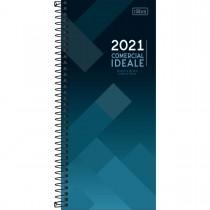 Imagem - Agenda Executiva Espiral Diária Comercial Ideale 2021