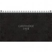 Imagem - Agenda Executiva Espiral Semanal 16,7 x 8,9 cm Cambridge 2022