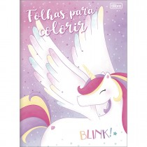 Imagem - Álbum para Colorir Blink 8 Folhas