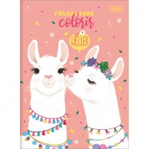 Imagem - Álbum para Colorir Hello! 8 Folhas