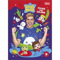 Imagem - Álbum para Colorir Luccas Neto 8 Folhas