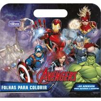 Imagem - Álbum para Colorir Maleta Avengers 8 Folhas
