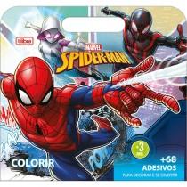 Imagem - Álbum para Colorir Maleta Spider 8 Folhas