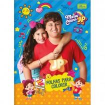 Imagem - Álbum para Colorir Maria Clara e JP 8 Folhas