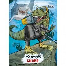Imagem - Álbum para Colorir Raptor 8 Folhas