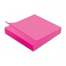 Imagem - Bloco Adesivo Tili Notes 76x76mm 100 folhas Rosa Neon