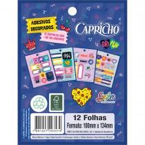Imagem - Bloco de Adesivos Decorados Capricho (293571)