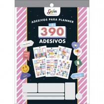 Imagem - Bloco de Adesivos Decorados para Planners Grafons