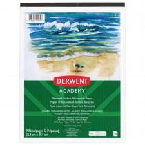 Imagem - Bloco de Papel para Aquarela Derwent Academy 300g/m² 22,9x30,5cm 15 folhas