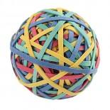 Imagem - Bola de Elástico 170 Unidades Cores Sortidas - Tilibra