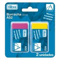 Imagem - Borracha Académie A52 Neon - Blister com 2 Unidades - Sortido