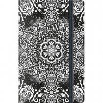 Imagem - Caderneta Capa Dura Costurada Fitto B&W 80 Folhas