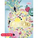 Imagem - Caderneta Costurada Capa Dura Capricho 96 Folhas - Sortido