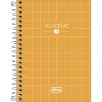 Imagem - Caderneta Espiral Capa Dura 1/8 Académie 80 Folhas (Pacote com 4 unidades) - Sortido