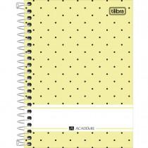 Imagem - Caderneta Espiral Capa Dura 1/8 Académie Feminino 80 Folhas - Sortido (Pacote com 4 unidades)