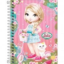 Imagem - Caderneta Espiral Capa Dura 1/8 Jolie 80 Folhas - Sortido (Pacote com 4 unidades)
