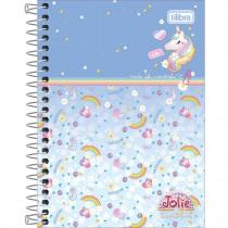 Imagem - Caderneta Espiral Capa Dura 1/8 Jolie Classic 80 Folhas (Pacote com 4 unidades) - Sortido