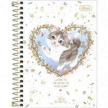 Imagem - Caderneta Espiral Capa Dura 1/8 Jolie Pet 80 Folhas (Pacote com 4 unidades) - Sortido
