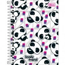 Imagem - Caderneta Espiral Capa Dura 1/8 Lovely Friends 80 Folhas - Sortido (Pacote com 4 unidades)