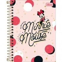 Imagem - Caderneta Espiral Capa Dura 1/8 Minnie 80 Folhas (Pacote com 4 unidades) - Sortido