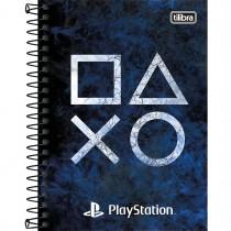 Imagem - Caderneta Espiral Capa Dura 1/8 PlayStation 80 Folhas (Pacote com 4 unidades) - Sortido