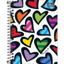 Imagem - Caderneta Espiral Capa Dura 1/8 Romero Britto 80 Folhas (Pacote com 4 unidades) - Sortido