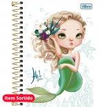 Imagem - Caderneta Espiral Capa Dura 1/8 Hi! Girls 96 Folhas - Sortido (Pacote com 4 unidades)