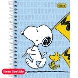 Imagem - Caderneta Espiral Capa Dura 1/8  Snoopy 96 Folhas - Sortido (Pacote com 4 unidades)