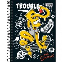 Imagem - Caderneta Espiral Capa Dura Simpsons 80 Folhas - Sortido (Pacote com 4 unidades)