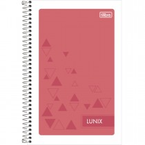 Imagem - Caderneta Espiral Capa Flexível 1/8 Lunix 96 Folhas (Pacote com 24 unidades) - Sortido