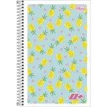 Imagem - Caderneta Espiral Capa Flexível 1/8 D+ 96 Folhas - Sortido