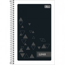 Imagem - Caderneta Espiral Capa Flexível 1/8 Lunix 48 Folhas - Sortido (Pacote com 25 unidades)