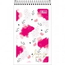 Imagem - Caderneta Espiral Capa Flexível Love Pink 60 Folhas (Pacote com 20 unidades) - Sortido
