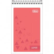 Imagem - Caderneta Espiral Capa Flexível Lunix 60 Folhas (Pacote com 20 unidades) - Sortido