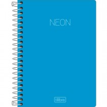 Imagem - Caderneta Espiral Capa Plástica 1/8 sem Pauta Neon 80 Folhas (Pacote com 5 unidades) - Sortido
