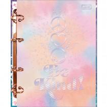 Imagem - Caderno Argolado Cartonado Colegial Good Vibes 160 Folhas