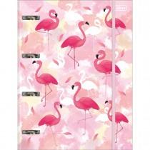 Imagem - Caderno Argolado Cartonado Universitário com Elástico Aloha 80 Folhas