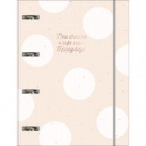 Imagem - Caderno Argolado Cartonado Universitário com Elástico Soho 80 Folhas