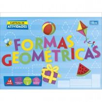 Imagem - Caderno Atividades de Formas Geométricas Académie 20 Folhas