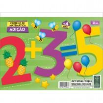 Imagem - Caderno Atividades de Matemática Adição Académie 32 Folhas