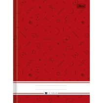 Imagem - Caderno Brochura Capa Dura 1/4 Académie 160 Folhas - Sortido (Pacote com 5 unidades)