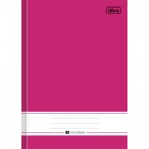 Imagem - Caderno Brochura Capa Dura 1/4 Académie Rosa 96 Folhas