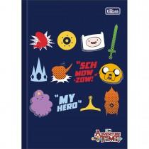 Imagem - Caderno Brochura Capa Dura 1/4 Adventure Time 96 Folhas - Sortido (Pacote com 5 unidades)