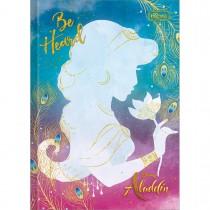 Imagem - Caderno Brochura Capa Dura 1/4 Aladdin 80 Folhas (Pacote com 5 unidades) - Sortido